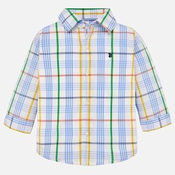 Mayoral Mayoral - Plaid Button Down, Lavender