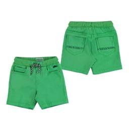 Mayoral Mayoral - Belted Shorts, Celery