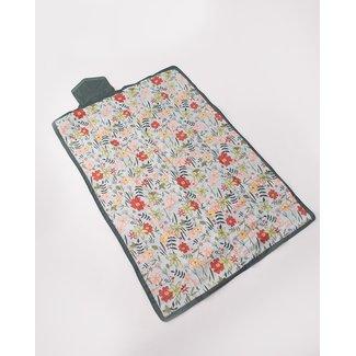 "Little Unicorn Little Unicorn - Outdoor Blanket, Primrose Patch, 5 x 7"""