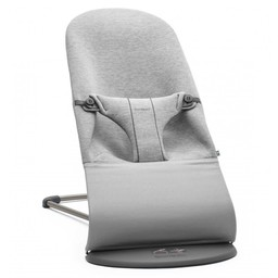 BabyBjörn BabyBjörn - Transat Bouncer Bliss Jersey 3D, Light Grey