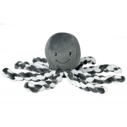 Nattou Nattou - Octopus Soft Plush, Anthracite