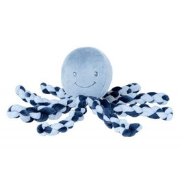 Nattou Nattou - Octopus Soft Plush, Blue