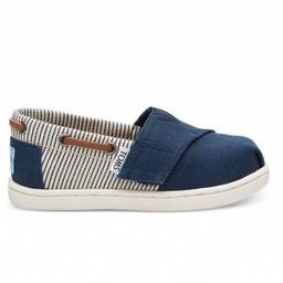 Toms Toms - Bimini Shoes, Navy Stripes