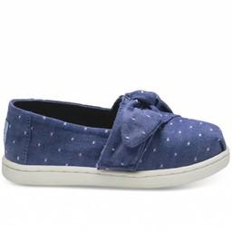 Toms Toms - Chaussures Alpargata, Pois Bleus