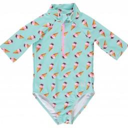 Birdz Children & Co Birdz - Miss Surfer Bathing Suit, Ice Cream, Mint