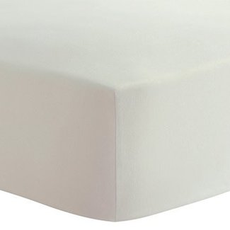 Kushies Kushies -  Organic Jersey Fitted Travel Crib Sheet, Off White
