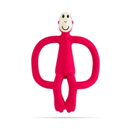 Matchstick Monkey Matchstick Monkey - Teething Toy, Red