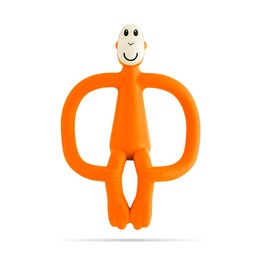 Matchstick Monkey Matchstick Monkey - Teething Toy, Orange