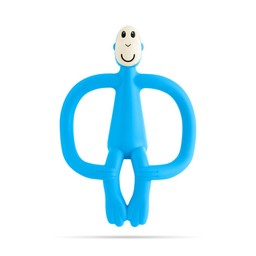 Matchstick Monkey Matchstick Monkey - Teething Toy, Light Blue