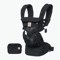 Ergobaby Ergobaby - Omni 360 Cool Air Baby Carrier, Black Onyx Mesh