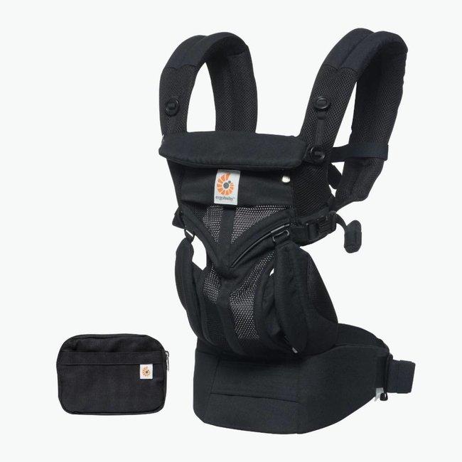 Ergobaby Ergobaby - Omni 360 Cool Air Baby Carrier, Black Onyx Mesh
