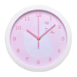 A Little Lovely Company A Little Lovely Company - Horloge à Aiguilles, Cygne Rose