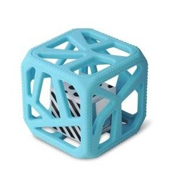 Munch Mitt Chew Cube - Cube de Dentition, Bleu