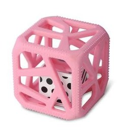 Munch Mitt Chew Cube - Cube de Dentition, Rose
