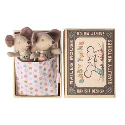 Maileg Maileg - Mouse Baby Twins in a Box
