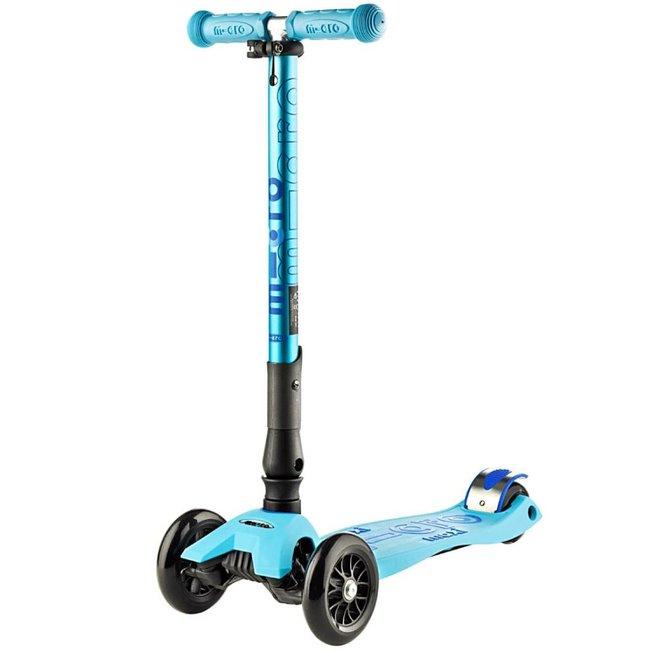 Kickboard Canada Kickboard - Deluxe Maxi Micro Scooter with Folding T-Bar, Bright Blue
