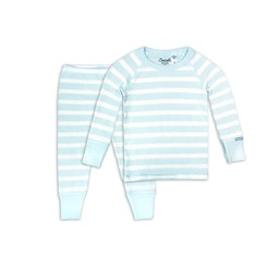 Coccoli Coccoli - 2 Piece Pyjama, Blue Cream Bubbles