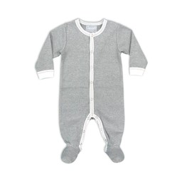 Coccoli Coccoli - Footie Pyjama, Heather Grey
