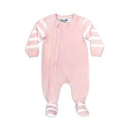 Coccoli - Footie Pyjama, Pink Cream Bubbles