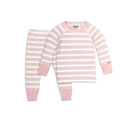 Coccoli - Pyjama 2 Pièces, Rose Crème Bulle