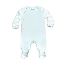 Coccoli - Footie Pyjama, Blue Cream Bubbles