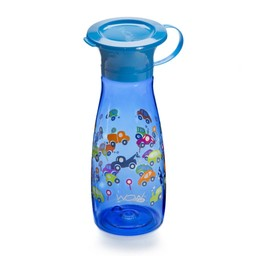 Wow Cup Wow Cup - Wow Cup Mini Tritan 12oz, Blue Cars