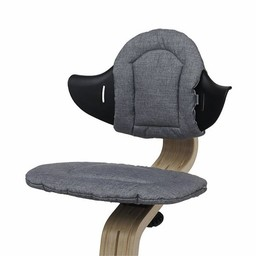 Nomi Nomi - Highchair Cushion, Gray