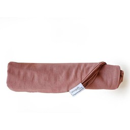 Snuggle Me Organic Snuggle Me Organic - Housse pour Station d'Accueil, Collection Lin, Rosewood