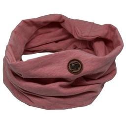 L&P L&P - Infinity Cotton Scarf, Pink Mix