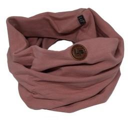 L&P L&P - Foulard de Coton Infinity, Rose Élégant