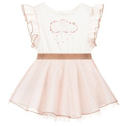Billieblush BillieBlush - Nymphea Flounced Dress