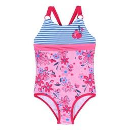 Nanö Nanö - Swimsuit, Flowers Stripes