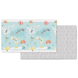 Skip Hop Skip Hop - Doubleplay Reversible Playmat Little Travelers
