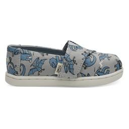 Toms Toms - Chaussures Alpargata, Dino Gris