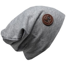 L&P L&P - Boston Cotton Beanie, Grey Mix