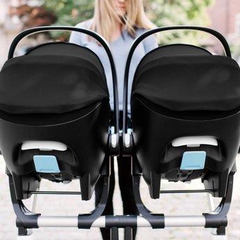 Grey Mammoth Clek Liing Infant Car Seat Flame Retardant Free Merino Wool