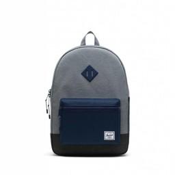 Herschel Herschel - Heritage Youth Backpack XL, Medium Grey, Medieval Blue and Black