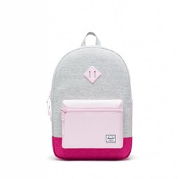 Herschel Herschel - Heritage Youth Backpack XL, Light Grey, Very Berry and Pink Lady