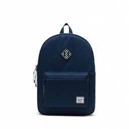 Herschel Herschel - Heritage Youth Backpack XL, Medieval Blue and Checkerboard