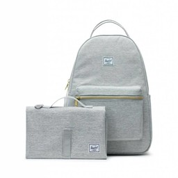 Herschel Herschel - Nova Sprout Diaper Backpack, Light Grey