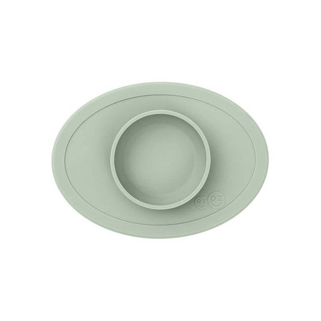 Ezpz EzPz - Tiny Bowl All-in-one Placemat and Bowl, Sage