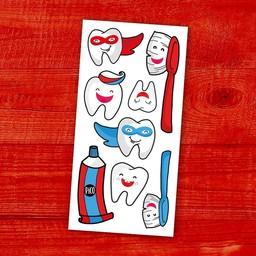 Pico Tatouages Temporaires Pico Tatoo - Temporary Tattoos, Brush Your Teeth