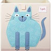 3 sprouts 3 Sprouts - Storage Box, Blue Cat