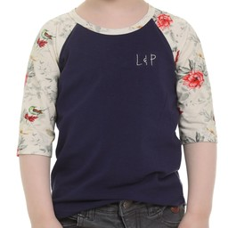 L&P L&P - 3/4 Sleeve Baseball T-Shirt, Ohama Navy