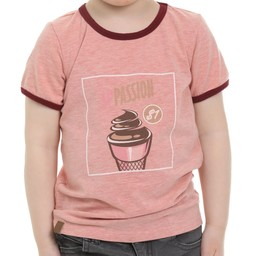 L&P L&P - Ice Cream Shirt, Pink