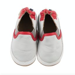 Robeez Robeez - Soft Soles Shoes, Liam Basic, Grey