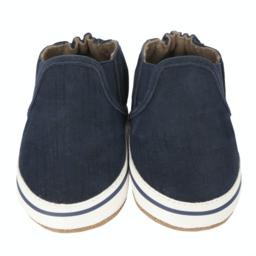 Robeez Robeez - Soft Soles Shoes, Liam Basic, Denim