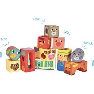 Vilac Vilac - Farm Muscial Blocks