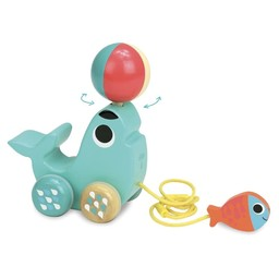 Vilac Vilac -  Bibi the Sea Lion Pull Toy