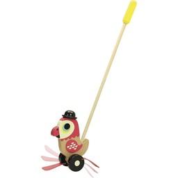 Vilac Vilac - Parrot Push Toy
